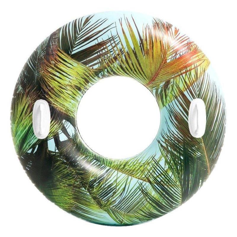 """Надувной круг Цветочный,пальма 58263 купить в магазине """"Пустун"""""""