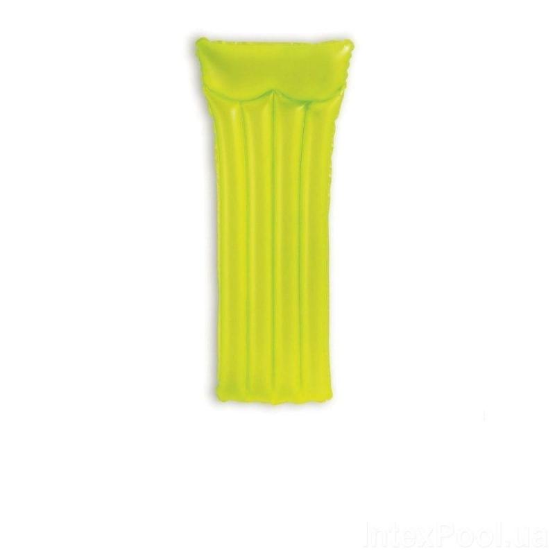 """Матрас """"Intex"""" (желтый) 59717 купить в магазине """"Пустун"""""""