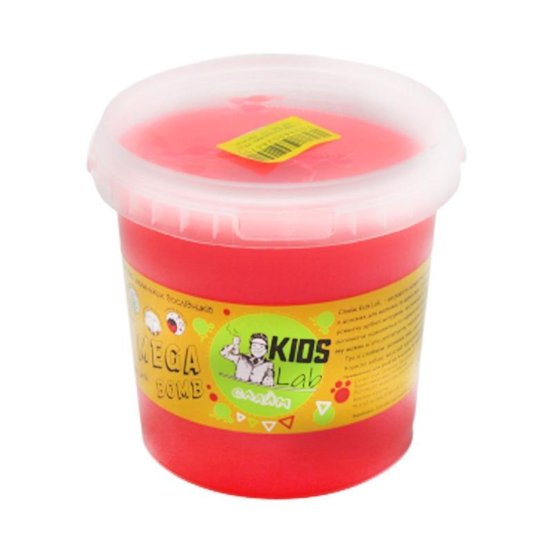 "Слайм Kids Lab Mega Bomb №5 1 кг бледно розовый купить в магазине ""Пустун"""