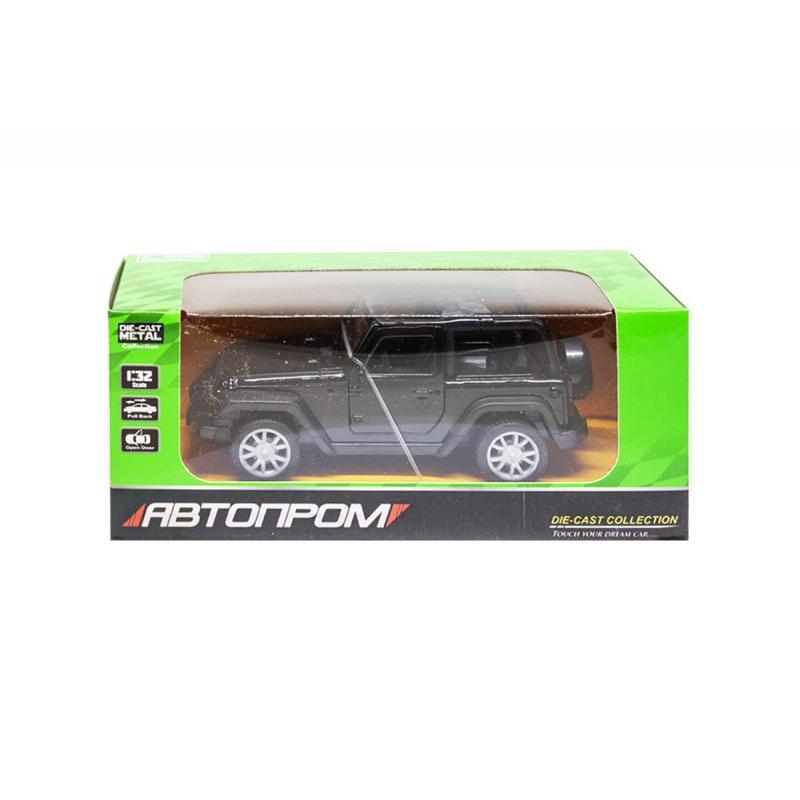"""Машинка Jeep из серии Автопром (черный) купить в магазине """"Пустун"""""""