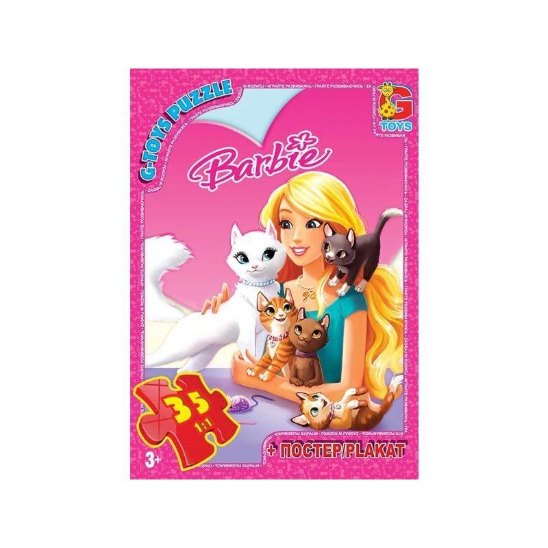 """Пазлы Barbie 35 элементов купить в магазине """"Пустун"""""""
