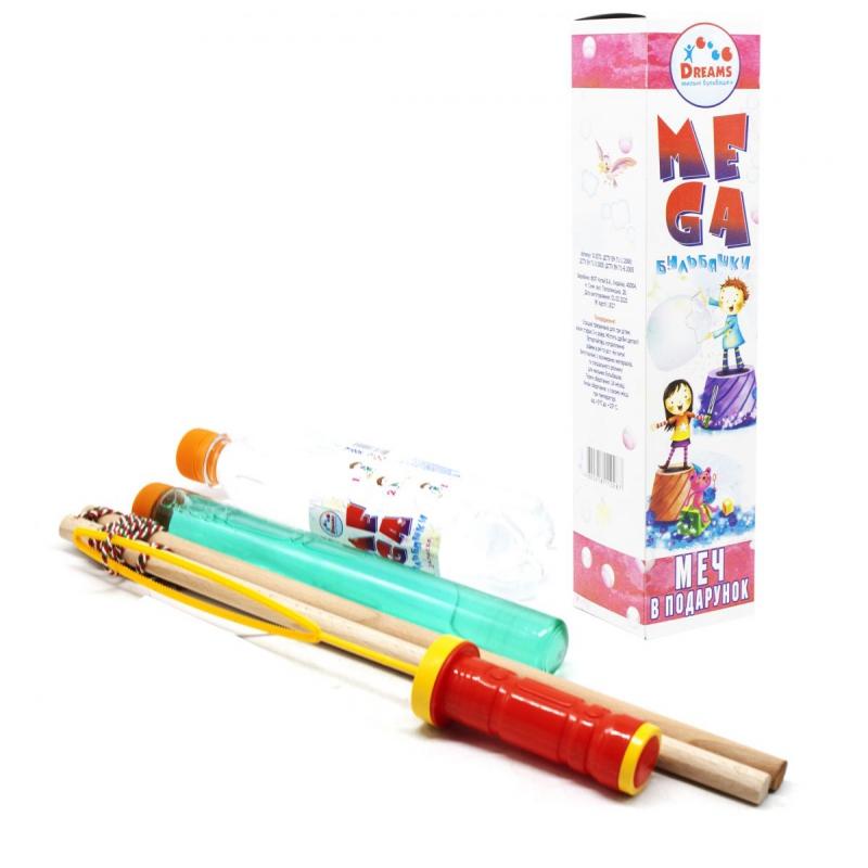 """Подарочный набор с мыльными пузырями """"Мега"""" НМегаПод купить в магазине """"Пустун"""""""