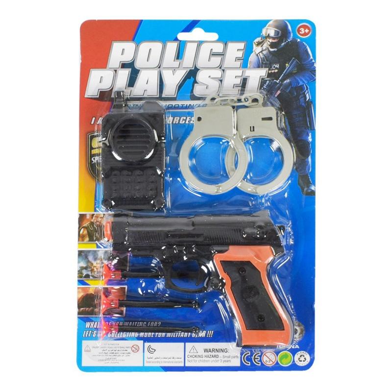 """Полицейский набор с пистолетом купить в магазине """"Пустун"""""""