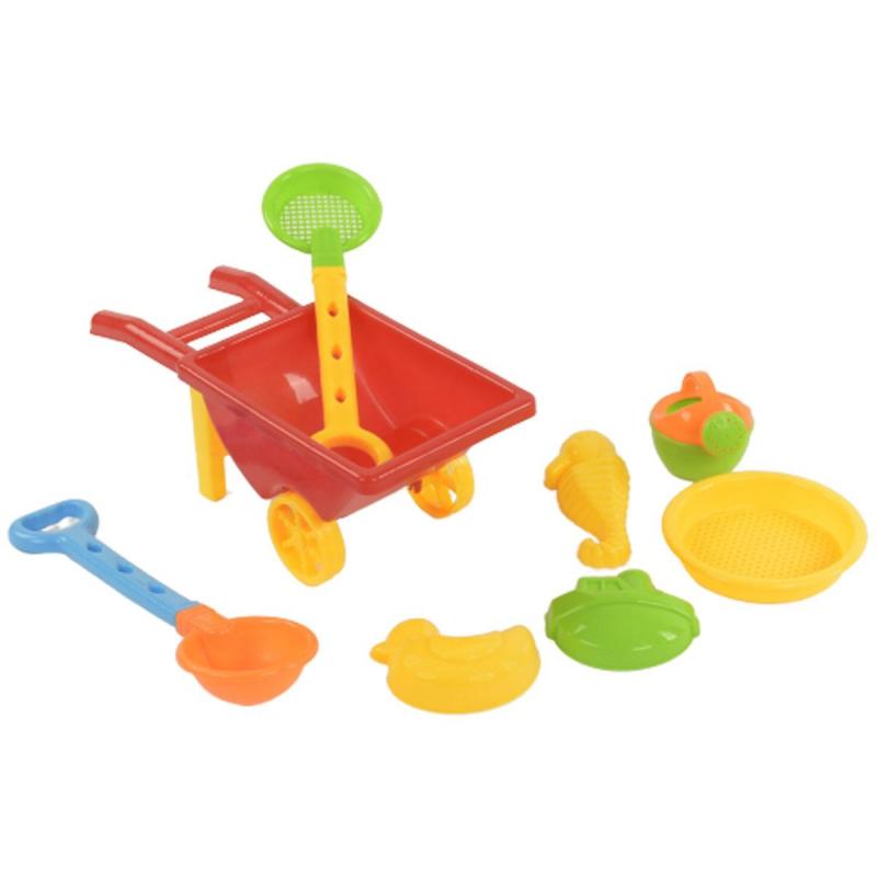 """Песочный набор с тачкой """"Beach Toys"""" 815B купить в магазине """"Пустун"""""""