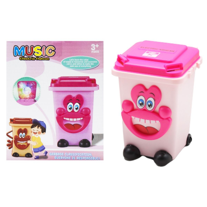 """Музыкальный мини контейнер розовый купить в магазине """"Пустун"""""""