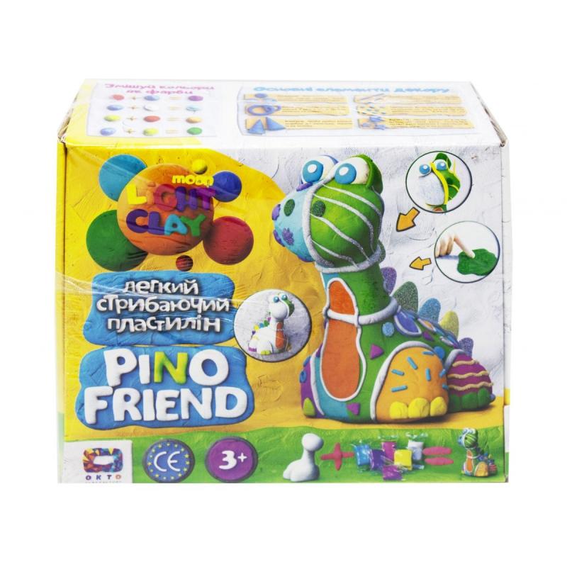 "Набор для лепки ""Pino Friend: Динозаврик Бард"" 70036 купить в магазине ""Пустун"""