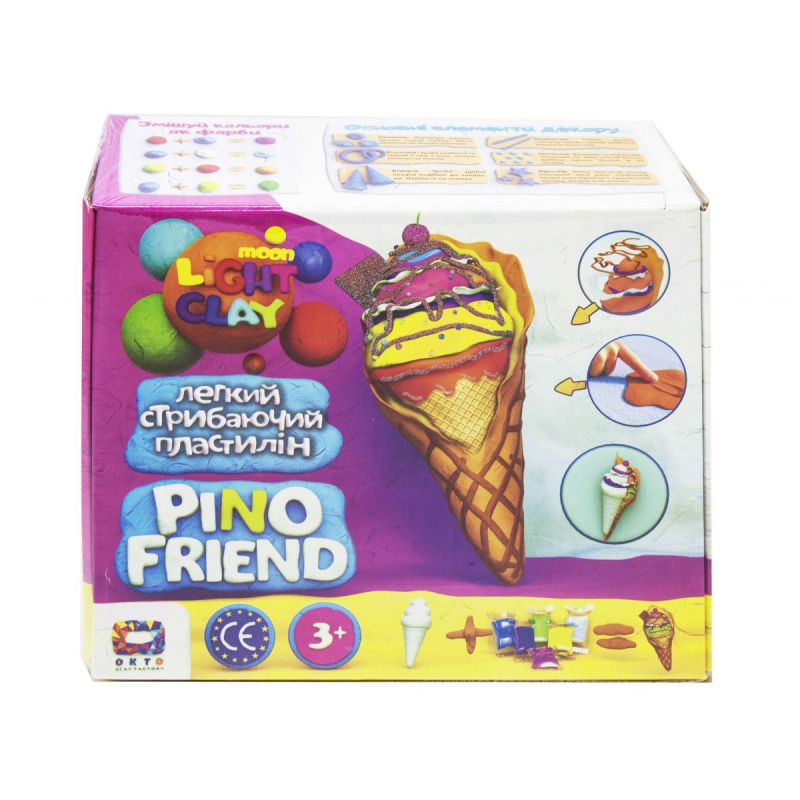 "Набор для лепки ""Pino Friend: Мороженое Айси"" 70039 купить в магазине ""Пустун"""