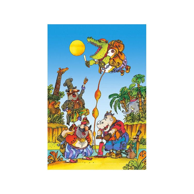 """Пазлы Краденое солнце 500 деталей купить в магазине """"Пустун"""""""