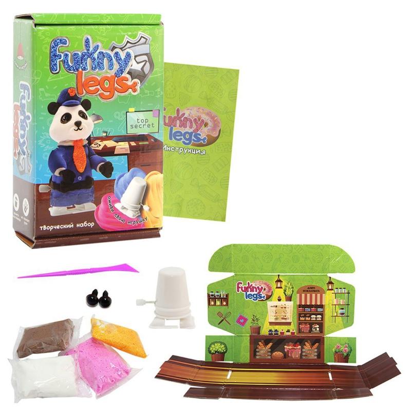 """Набор для творчества Funny legs Панда 30708 купить в магазине """"Пустун"""""""