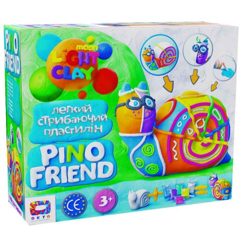 """Набор для лепки """"Pino Friend: Динозаврик Райли"""" 70037 купить в магазине """"Пустун"""""""