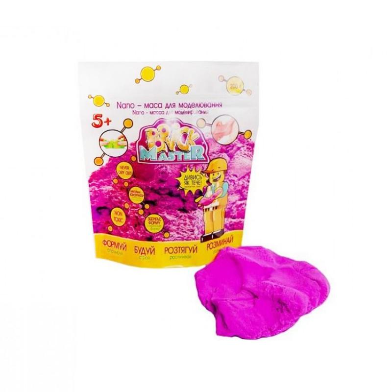 """Nano-масса для моделирования """"Brick Master"""" фиолетовый 200 г 90006 купить в магазине """"Пустун"""""""