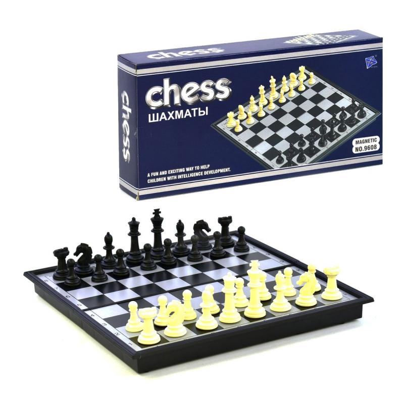 """Набор магнитных шахмат 9608 купить в магазине """"Пустун"""""""