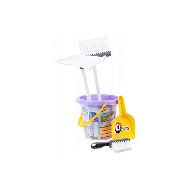 """Набор для уборки (фиолетовый) 5835 купить в магазине """"Пустун"""""""