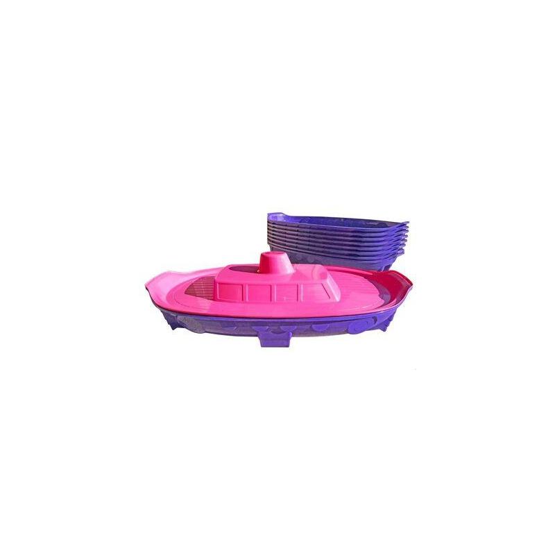 """Песочница """"Кораблик"""" (розово-фиолетовый) 03355/2 купить в магазине """"Пустун"""""""