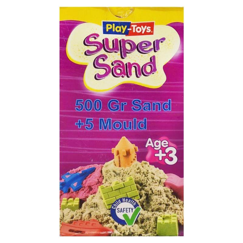 """Кинетический песок """"Super Sand"""", 500 г. PT 42410 купить в магазине """"Пустун"""""""