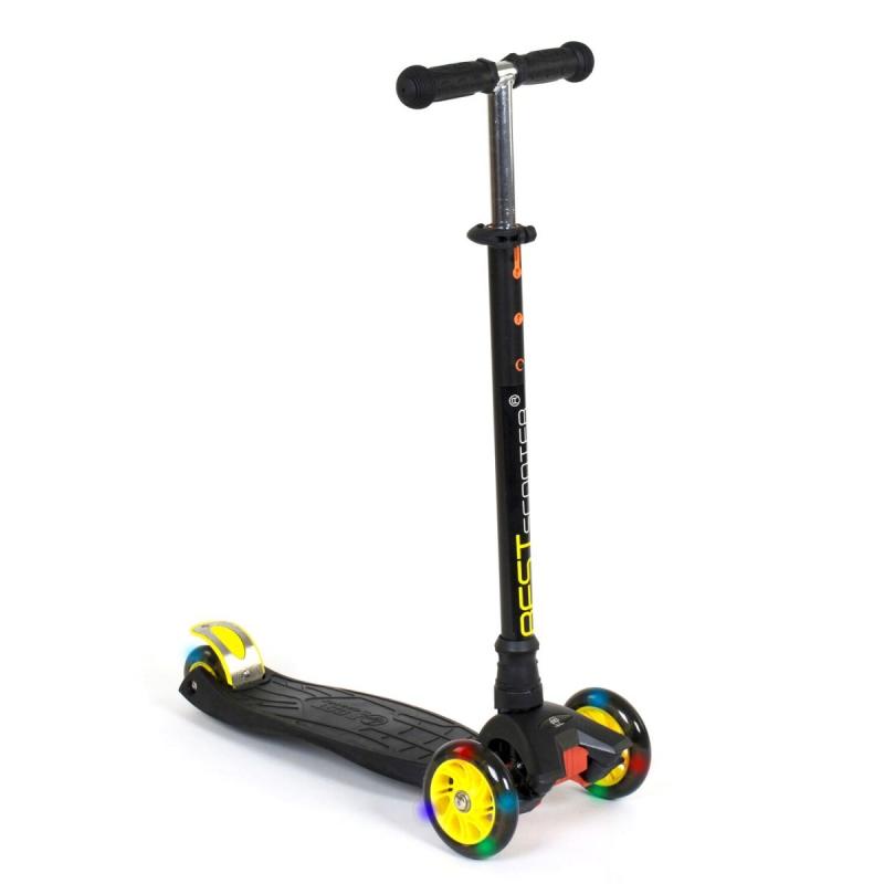 """Самокат трехколесный """"Best Scooter. MAXI"""" (черный) 466-113/А24320 купить в магазине """"Пустун"""""""
