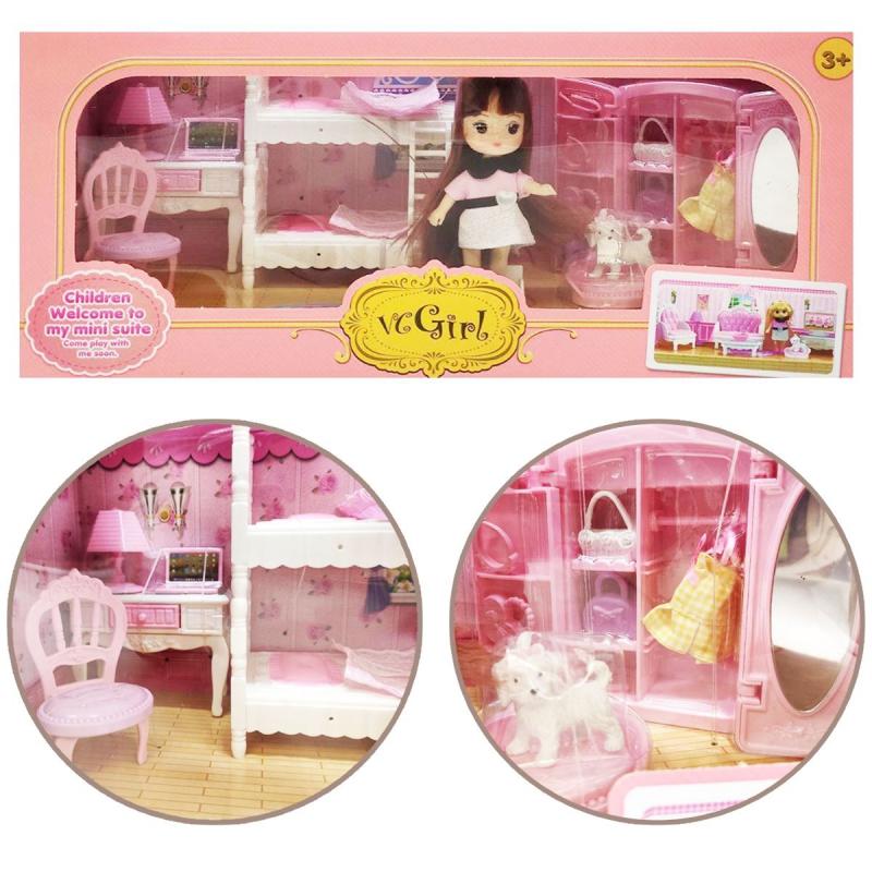 """Кукла со спальней """"VС Girl"""" sv-81 купить в магазине """"Пустун"""""""