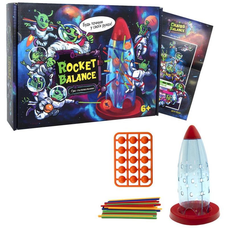 """Настольная игра """"Rocket Balance"""" укр 30407 купить в магазине """"Пустун"""""""