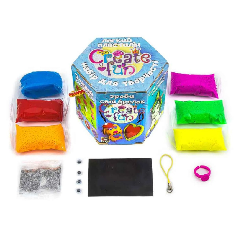 """Набор для творчества """"Create fun Moon Light Clay"""" 70031 купить в магазине """"Пустун"""""""