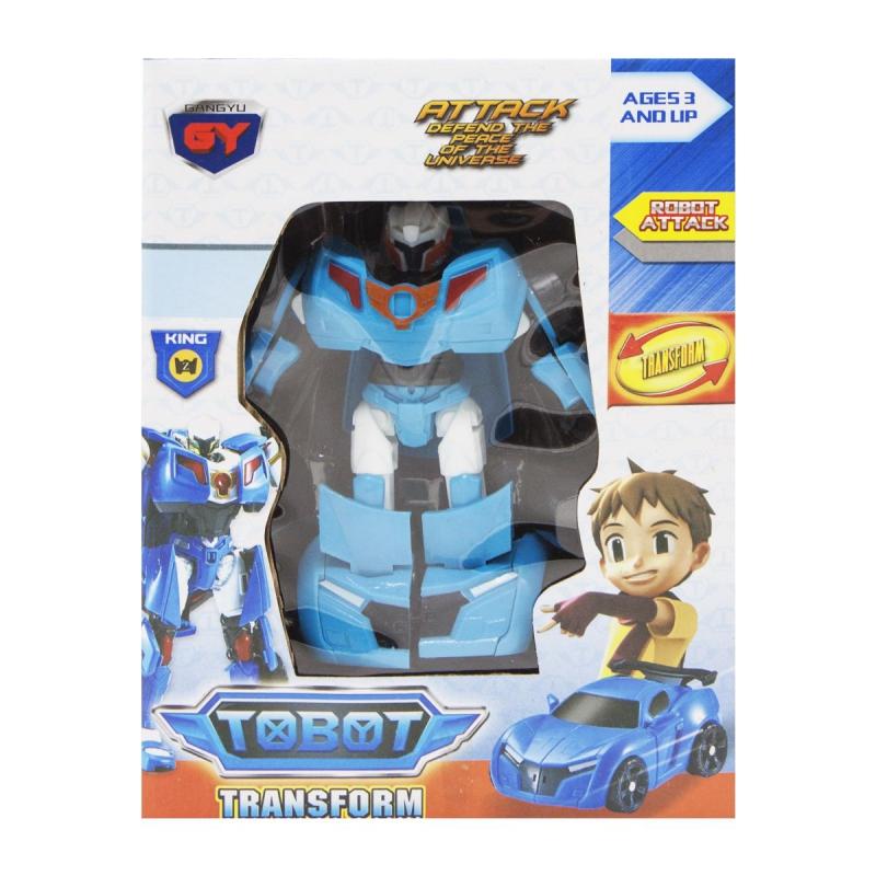 """Робот """"TOBOT"""" (синий) 3819 купить в магазине """"Пустун"""""""