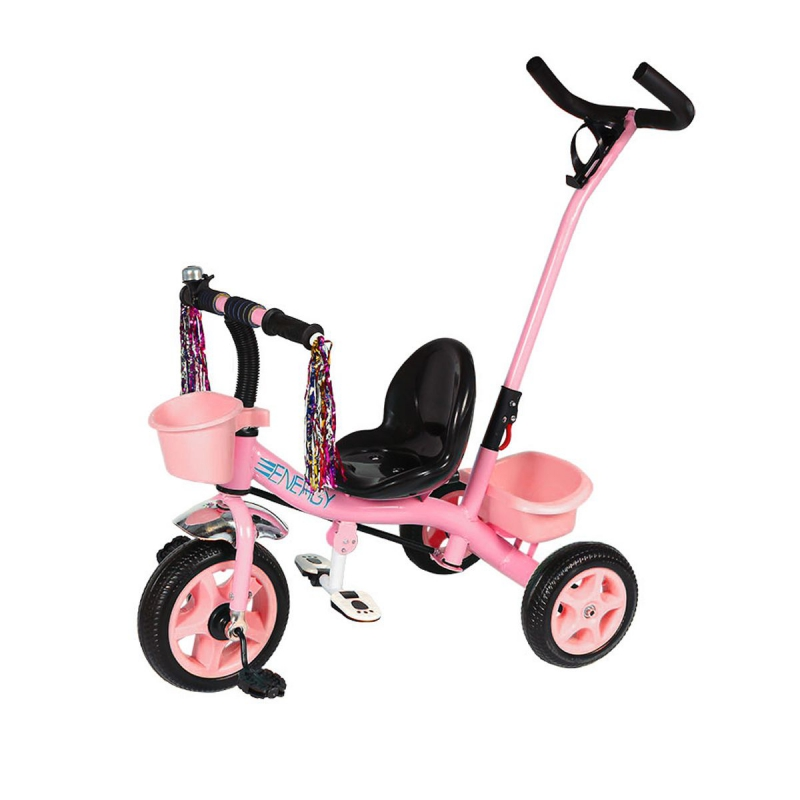 """Велосипед трехколесный """"Energy"""" розовый T-322 ENERGY купить в магазине """"Пустун"""""""