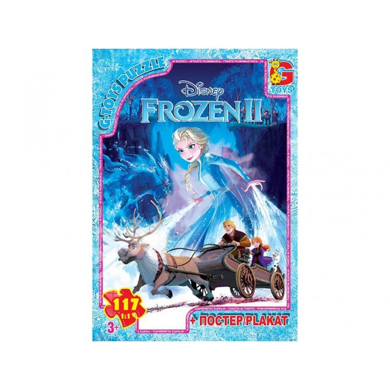 """Пазлы """"Frozen"""", 117 эл FR025 купить в магазине """"Пустун"""""""