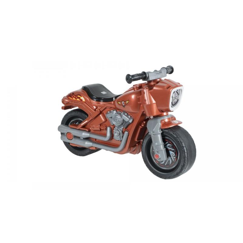 """Мотоцикл 2-х колесный с сигналом коричневый 504_Кр купить в магазине """"Пустун"""""""