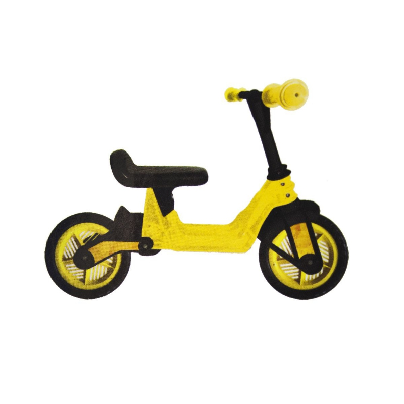 "Беговел ""Cosmo Bike"", 10"" (желтый) KW-11-014 ЖЁЛ купить в магазине ""Пустун"""