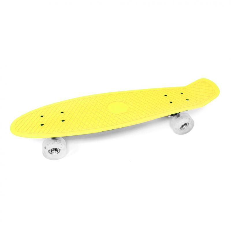 "Скейт желтый BT-YSB-0060 купить в магазине ""Пустун"""