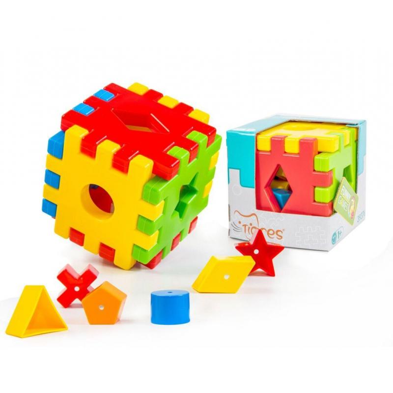 """Развивающая игрушка TIGRES Волшебный куб (39376) купить в магазине """"Пустун"""""""