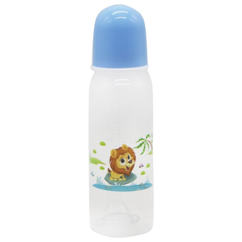 """Бутылочка для кормления, 240 мл голубой 1102 купить в магазине """"Пустун"""""""