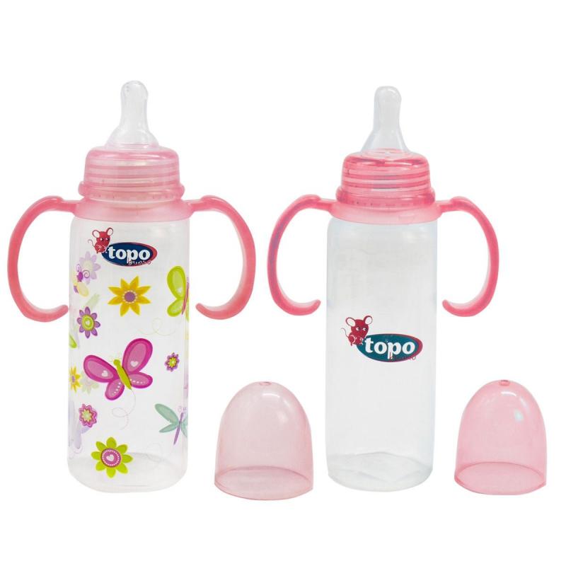 """Бутылочка для кормления (розовый) T003 купить в магазине """"Пустун"""""""