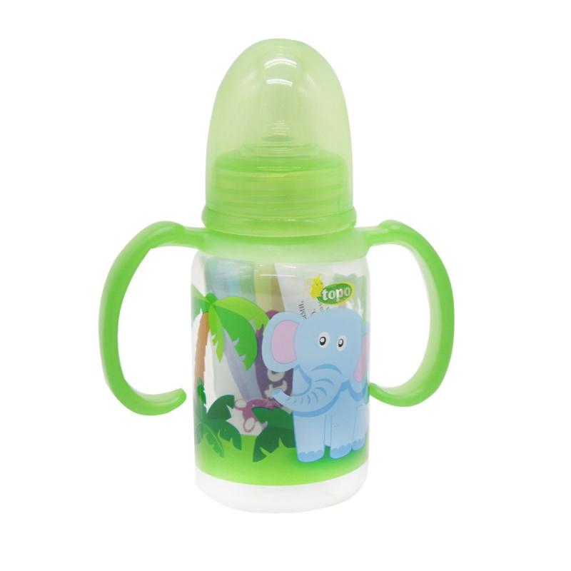 """Бутылочка для кормления, 150 мл зеленый T004 купить в магазине """"Пустун"""""""