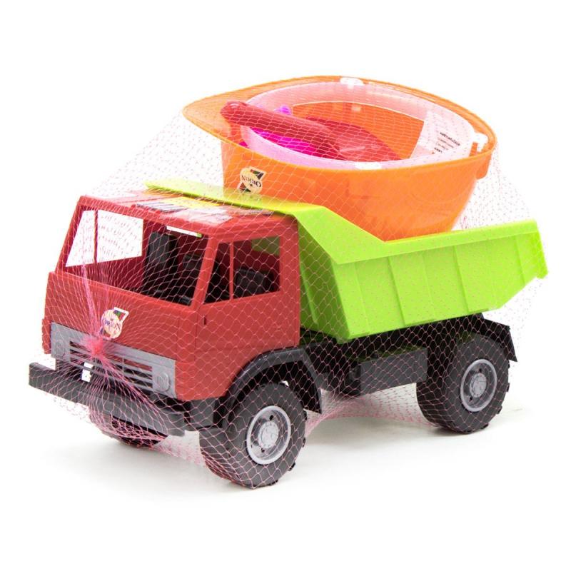 """Машинка с каской, красный 41 купить в магазине """"Пустун"""""""