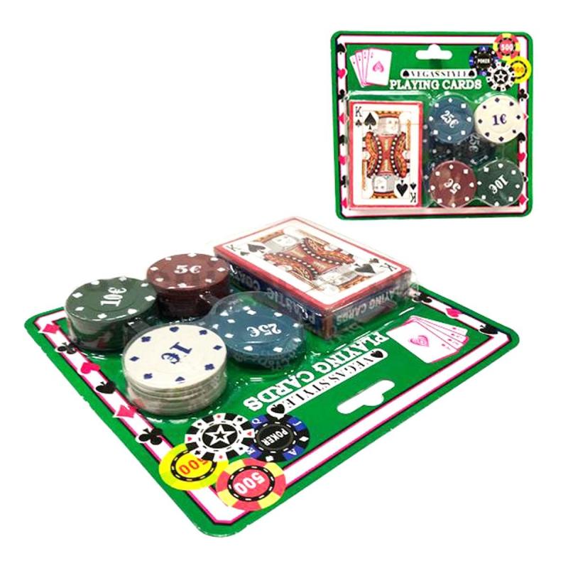 """Игровой набор """"Карты и жетоны"""" IGR45 купить в магазине """"Пустун"""""""