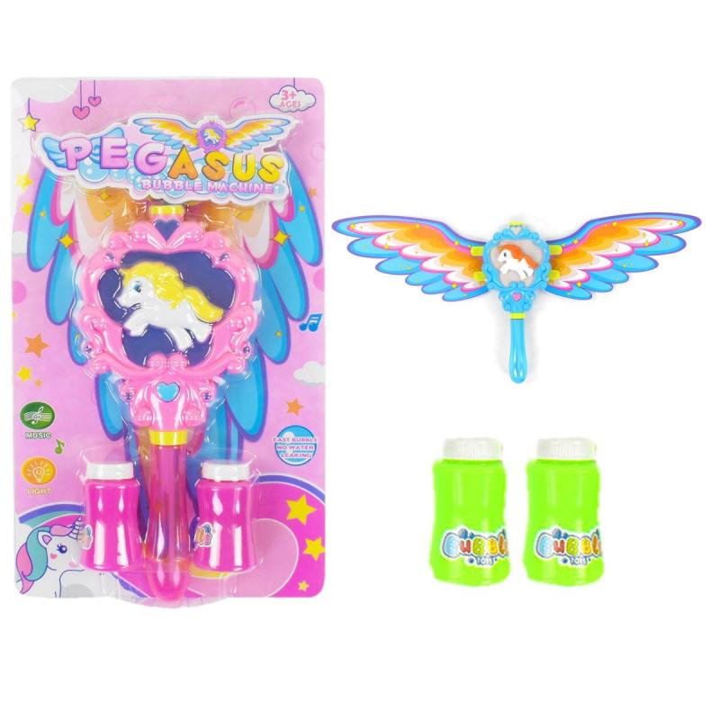 """Мыльные пузыри """"Волшебная палочка"""" розовый BO999-2 купить в магазине """"Пустун"""""""