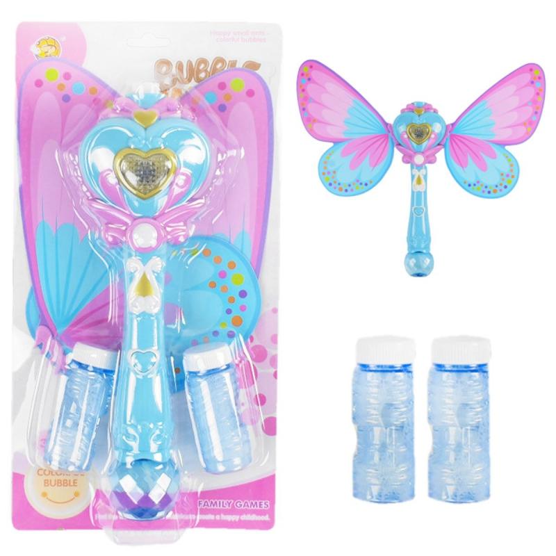 """Мыльные пузыри """"Волшебная палочка: Бабочка"""" синий MY112Y-2 купить в магазине """"Пустун"""""""