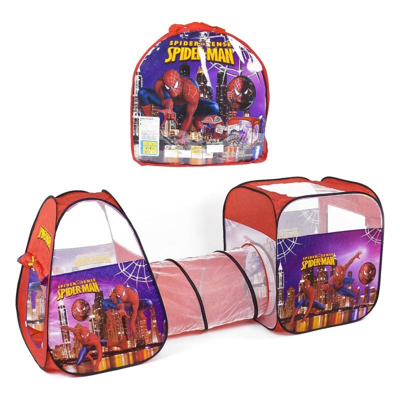 """Палатка с тоннелем """"Человек Паук"""" 8015SP купить в магазине """"Пустун"""""""