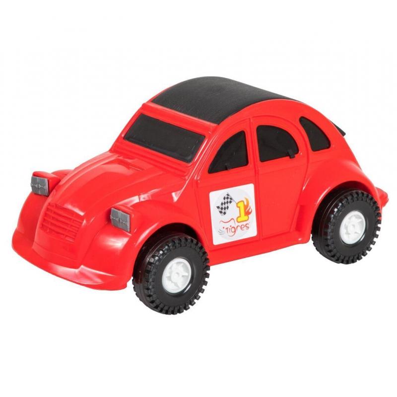 """Машина пластиковая Volkswagen Beetle красная 39011 купить в магазине """"Пустун"""""""