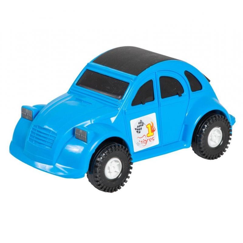 """Машина пластиковая Volkswagen Beetle синяя 39011 купить в магазине """"Пустун"""""""