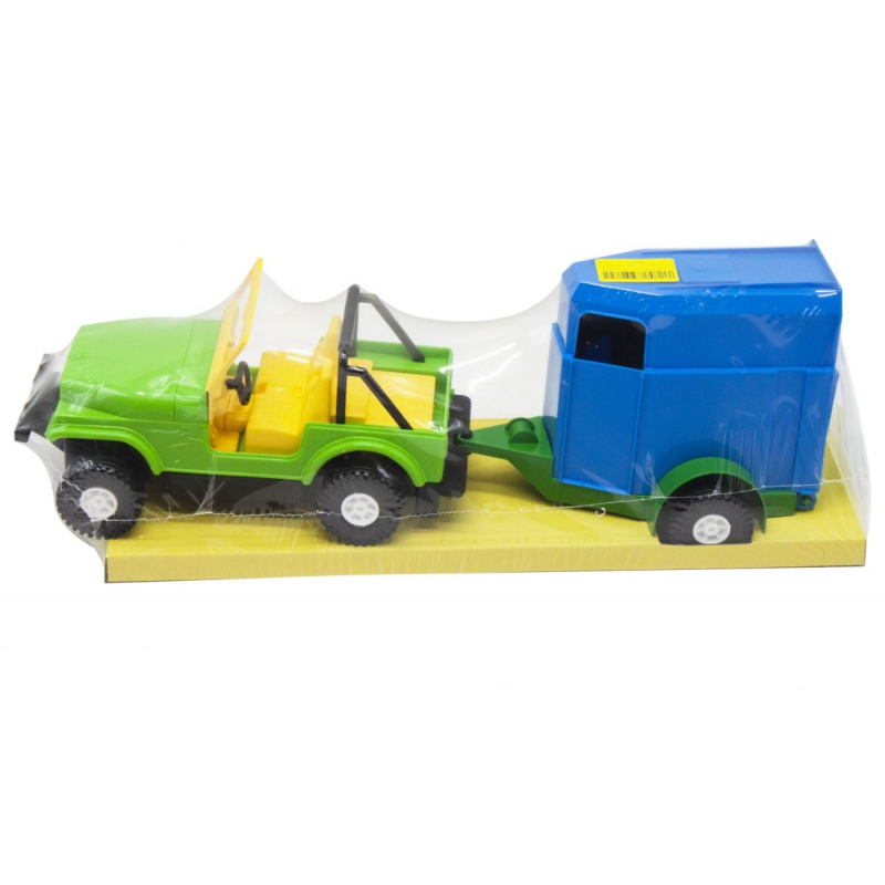 """Машина TIGRES Wrangler с конем (39007) купить в магазине """"Пустун"""""""