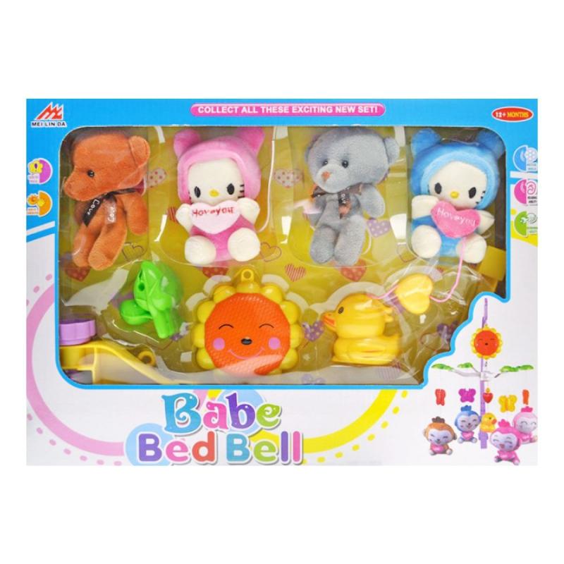 """Каруселька на кроватку """"Babe Bed Bell"""" 3006 купить в магазине """"Пустун"""""""