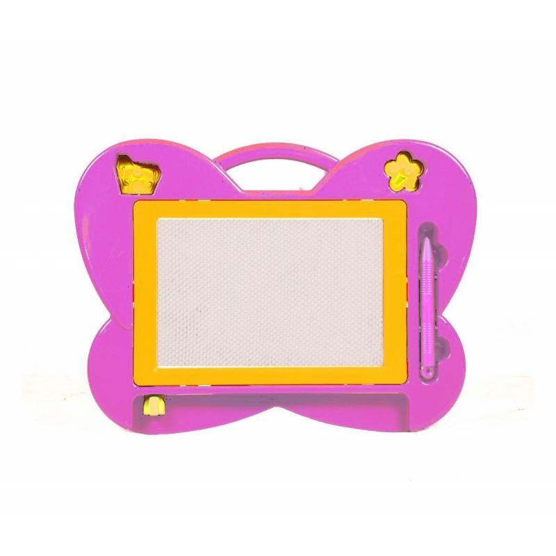 """Магнитная досточка для рисования Бабочка розовая HS105 купить в магазине """"Пустун"""""""