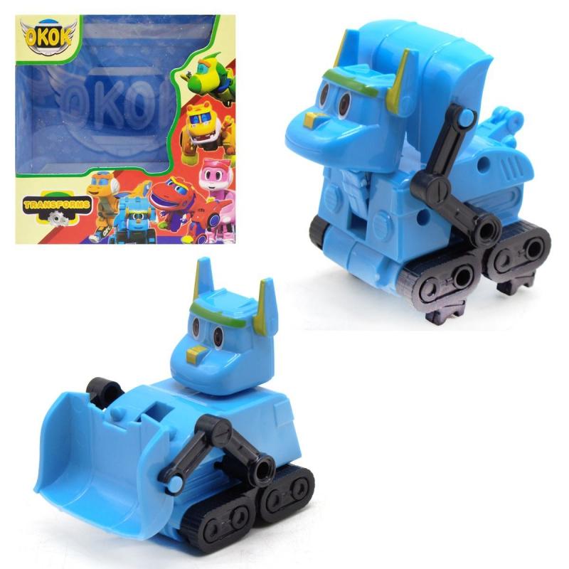 """Игрушка-трансформер """"GoGo Dino"""" синий 167 купить в магазине """"Пустун"""""""