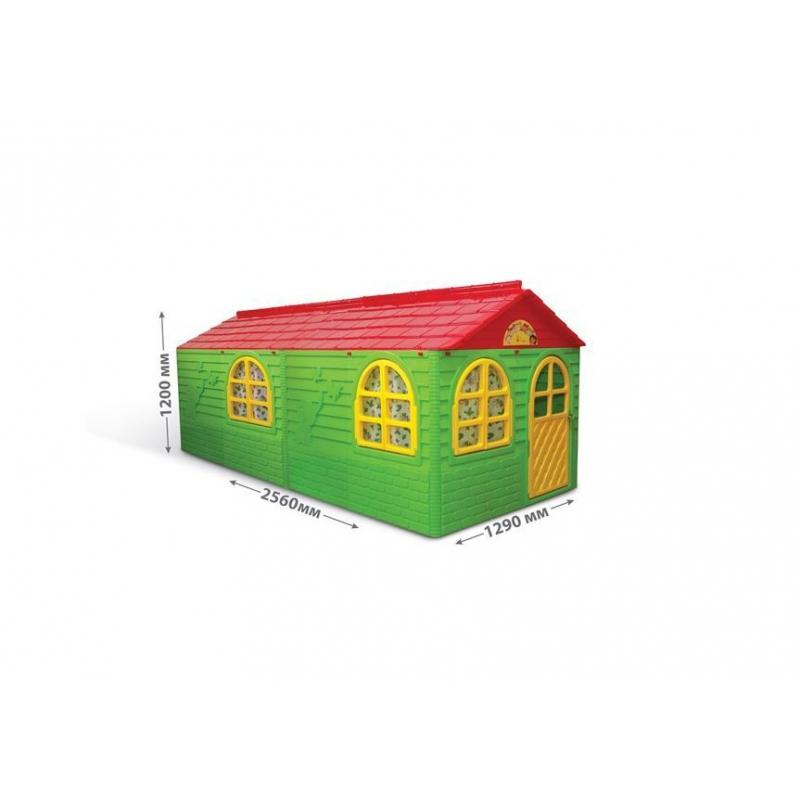 """Игровой набор """"Домик со шторками"""", большой 02550/23 купить в магазине """"Пустун"""""""
