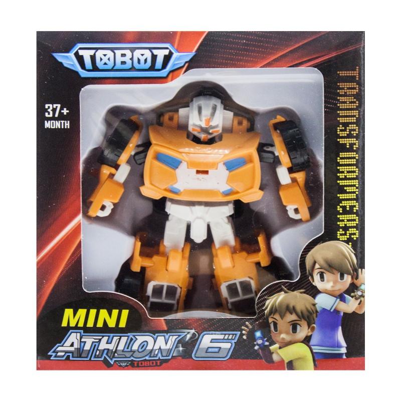 """Игрушка-трансформер """"TOBOT"""" оранжевый 128 купить в магазине """"Пустун"""""""