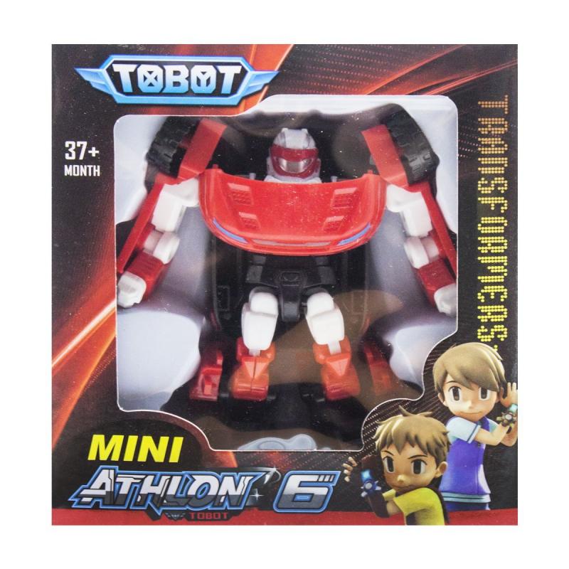 """Игрушка-трансформер """"TOBOT"""" красно-белый 128 купить в магазине """"Пустун"""""""