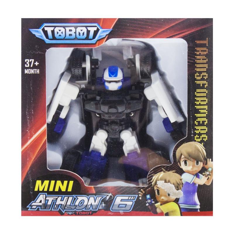 """Игрушка-трансформер """"TOBOT"""" черно-белый 128 купить в магазине """"Пустун"""""""