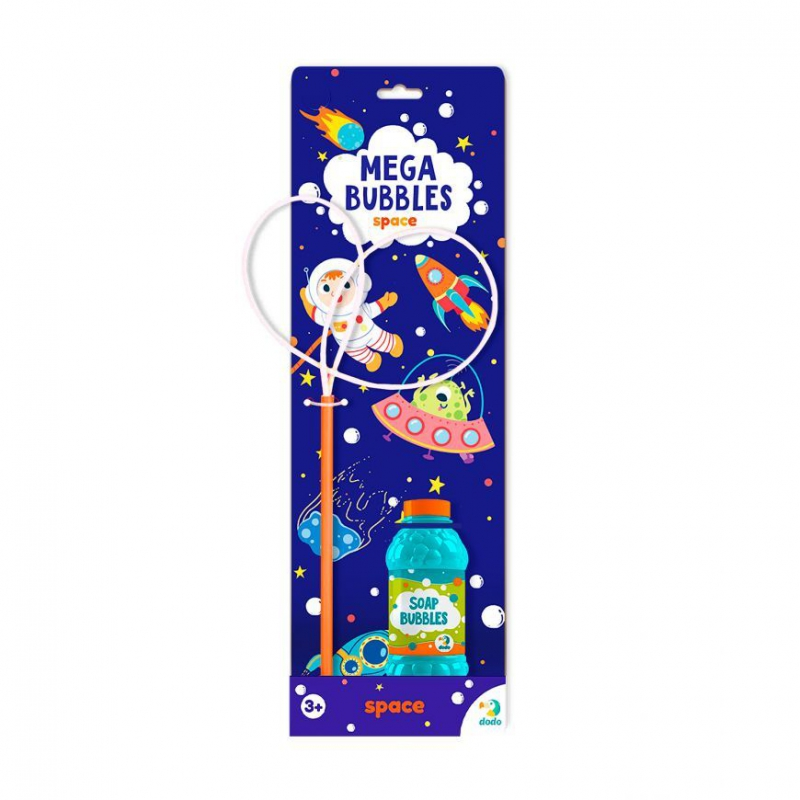 """Мыльные пузыри Mega Bubbles Космос 450 мл 300247 купить в магазине """"Пустун"""""""
