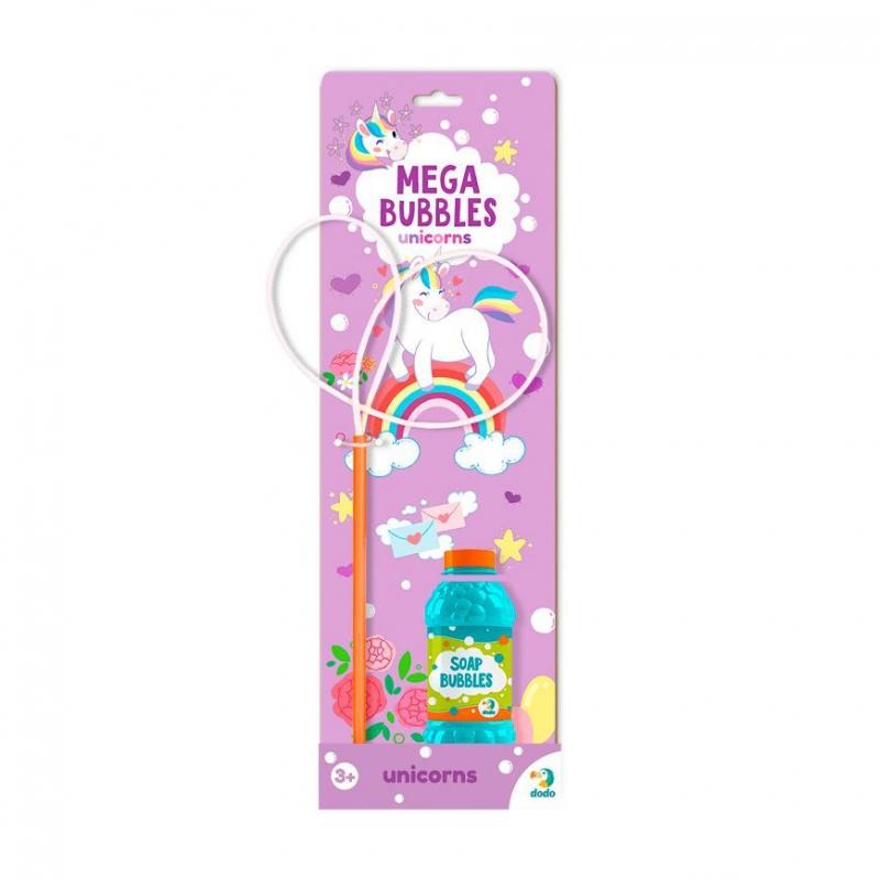 """Мыльные пузыри Mega Bubbles Единорожки 450 мл 300244 купить в магазине """"Пустун"""""""
